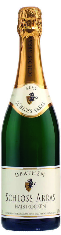 Drathen Gold Schloss Arras sparkling-wine