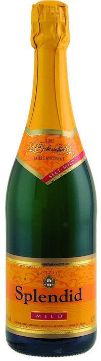 Splendid vintage sparkling wine mild
